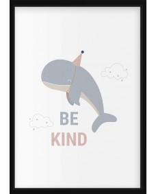 POSTER - Havsdjur, be kind