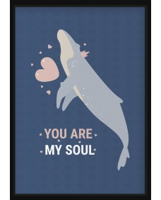 POSTER - Havsdjur, you are my soul