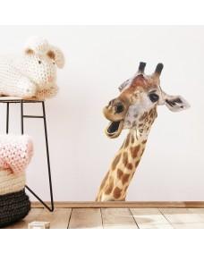 Väggdekor - Giraffhuvud