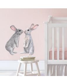 Väggdekor - Kaniner / Stående