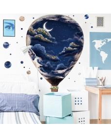 VÄGGDEKOR - Natthimlens luftballong
