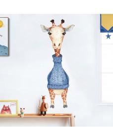 Väggdekor - Turtleneck giraff