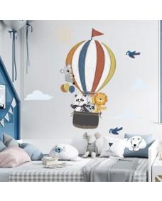 VÄGGDEKOR  - Luftballong med Panda