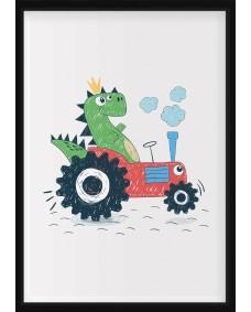 POSTER - Dino i traktor