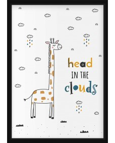 POSTER - Head in the clouds