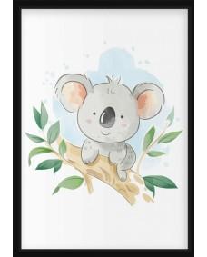 POSTER - Koala i träd