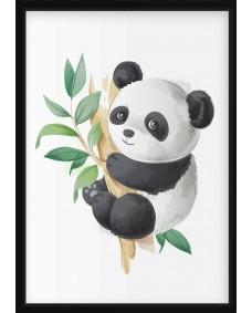 POSTER - Panda i träd