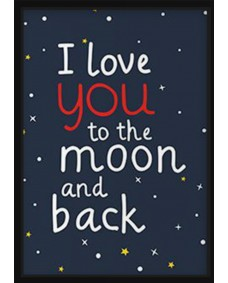 POSTER - To the moon and back