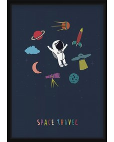 POSTER - Space travel
