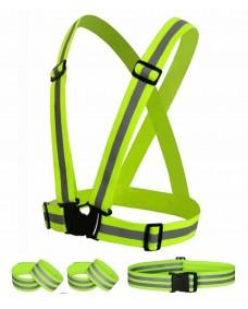Reflexsele Neon - Fyra delar