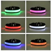 Reflex LED halsband till hund