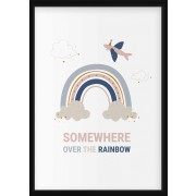 POSTER - Regnbåge, Somewhere over the rainbow