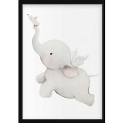 POSTER - Flygande elefant