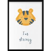 POSTER - Porträtt Tiger