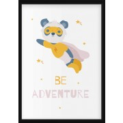 POSTER - Superdjur, be adventure