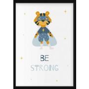 POSTER - Superdjur, be strong