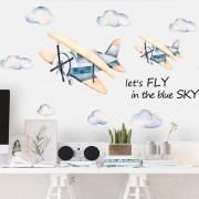 Väggdekor - Flygplan