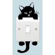 Lampdekor -  Svart katt